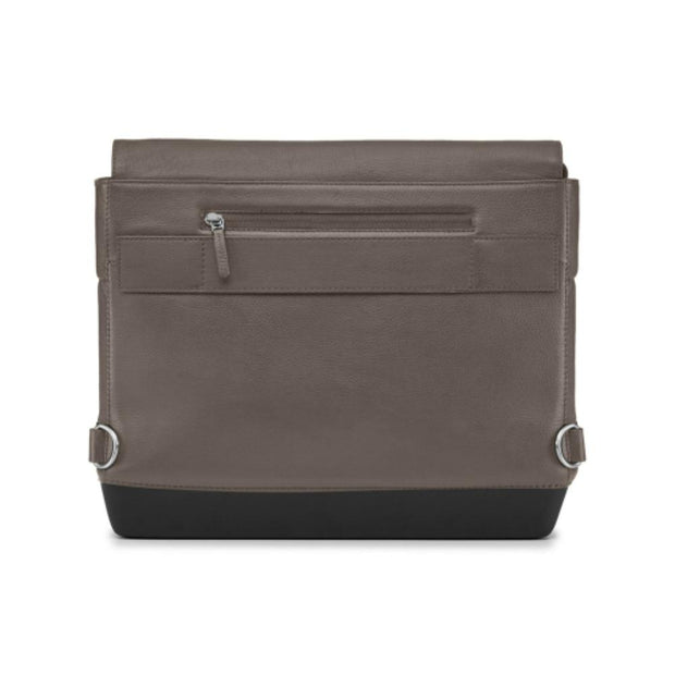Moleskine Classic Leather Slim Messenger Bag - Brown