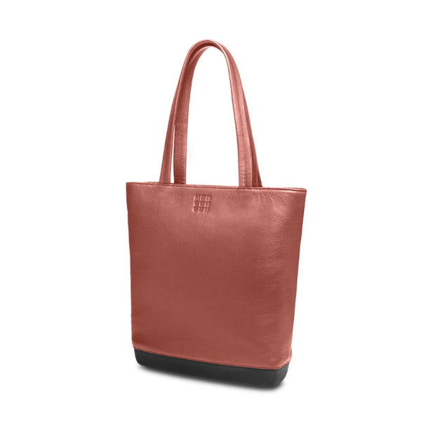 Moleskine Classic Leather Tote Bag - Red