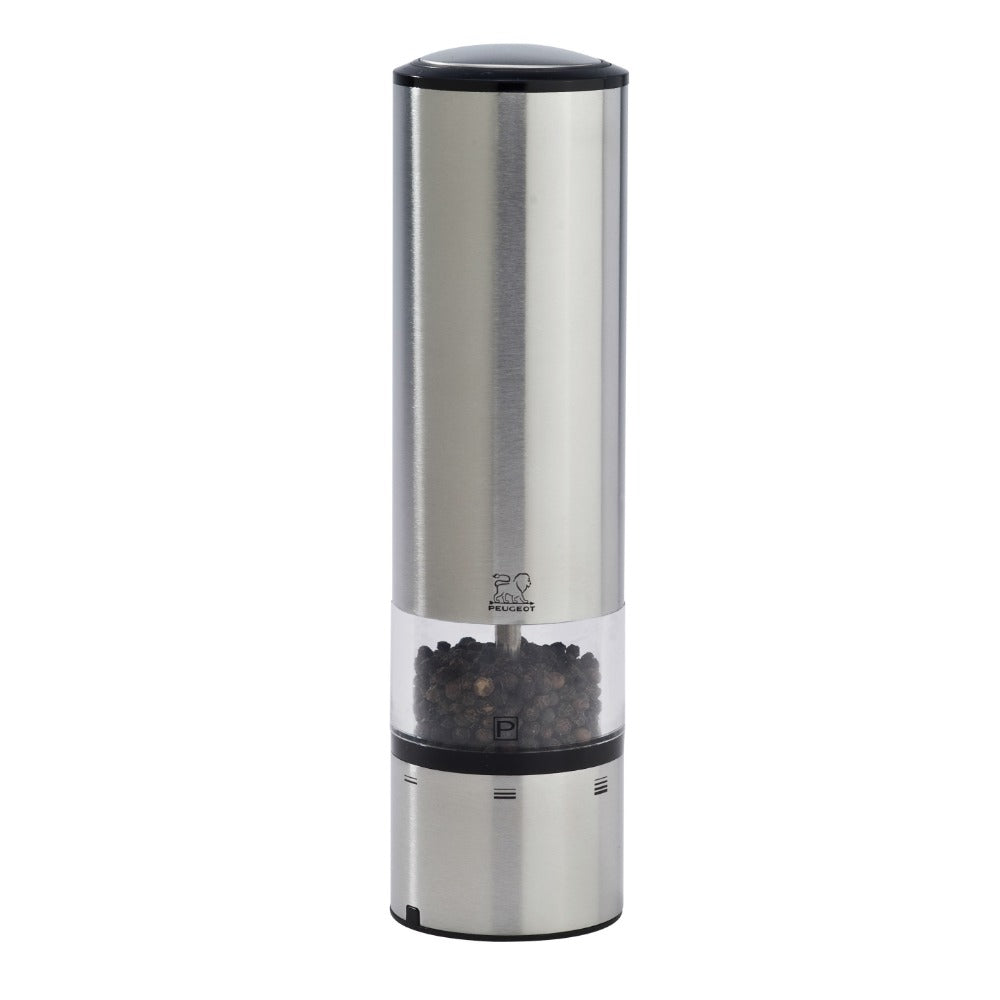 Peugeot Elis Sense u'Select Stainless Steel Electric Pepper Mill - 20cm