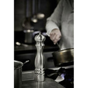 Peugeot Paris Chef u'Select Stainless Steel and Wood Manual Pepper Mill - 22cm