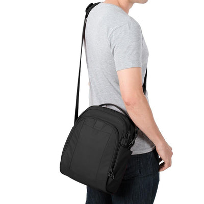 Pacsafe Metrosafe LS250 Shoulder Bag - Black by Burton Blake