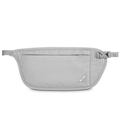 Pacsafe Coversafe V100 Anti-Theft RFID Blocking Waist Wallet - Neutral Grey by Burton Blake