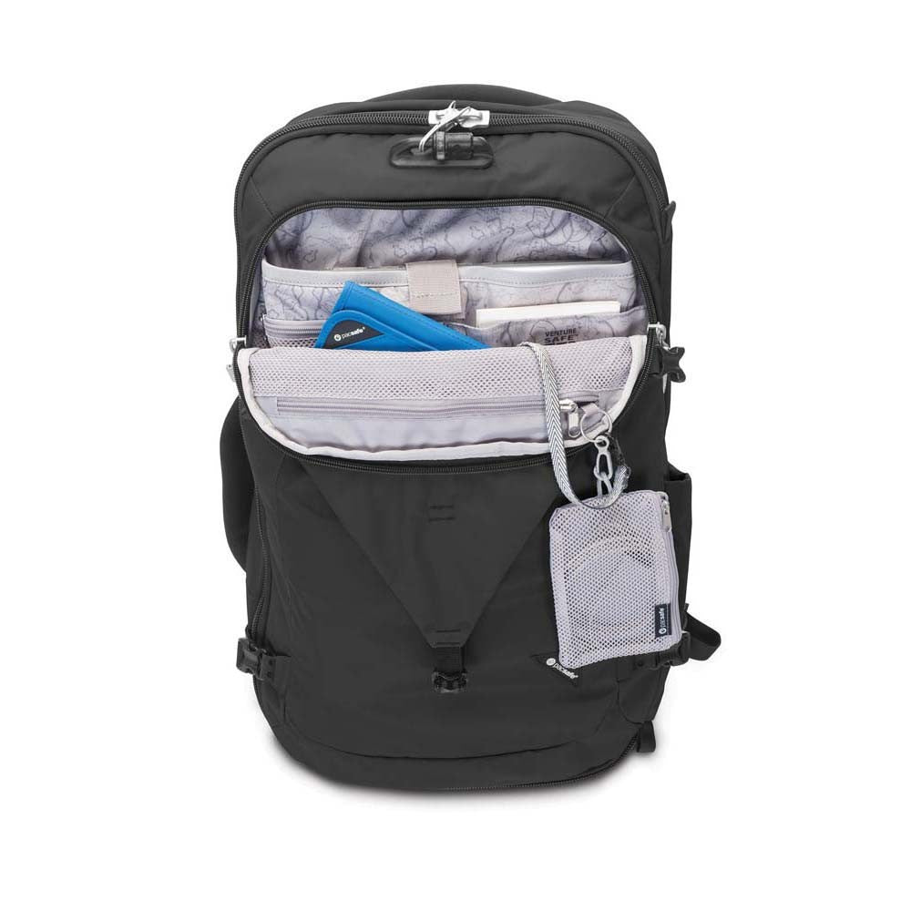 879be7a70080 Pacsafe Venturesafe EXP45 Anti-Theft 45L Carry On Travel Pack - Black