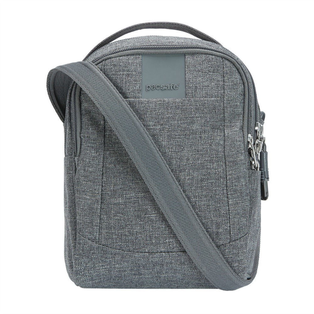 Pacsafe Metrosafe LS100 Anti-Theft Crossbody Bag - Dark Tweed