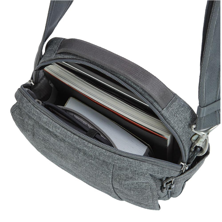 Pacsafe Metrosafe LS200 Anti-Theft Shoulder Bag - Dark Tweed