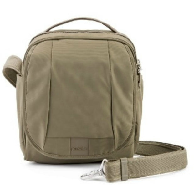 Pacsafe Metrosafe LS200 Anti-Theft Shoulder Bag - Earth Khaki