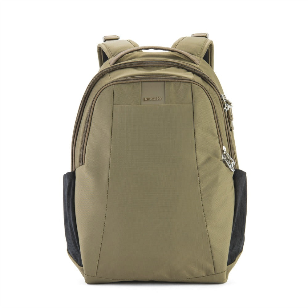 Pacsafe Metrosafe LS350 Anti-Theft 15L Backpack - Earth Khaki