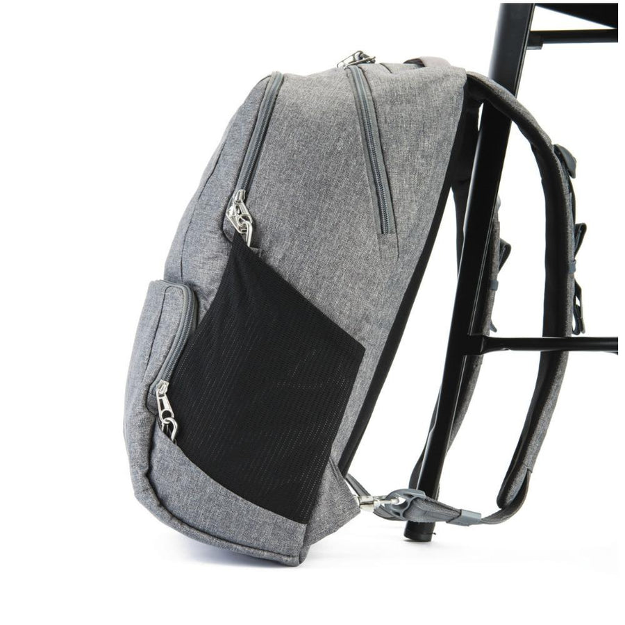 Pacsafe Metrosafe LS450 Anti-Theft 25L Backpack - Dark Tweed