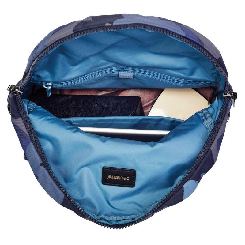 Pacsafe Citysafe CX Anti-Theft Convertible Back Pack to Cross Body Bag - Blue Orchid