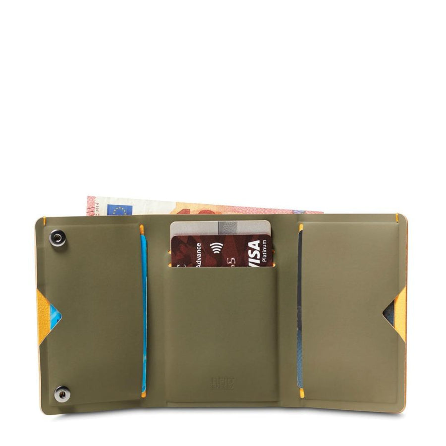 Pacsafe RFIDsafe TEC Anti-Theft RFID Blocking Trifold Wallet - Utility Green