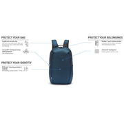 Pacsafe Vibe 25L ECONYL® Recycled Backpack Deep Ocean