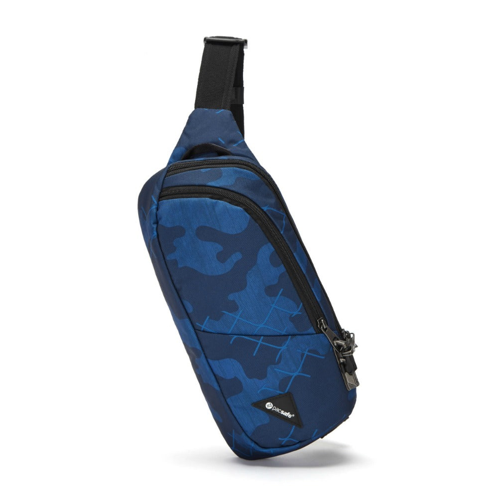 Pacsafe Vibe 150 Anti-Theft Sling Pack Blue Camo