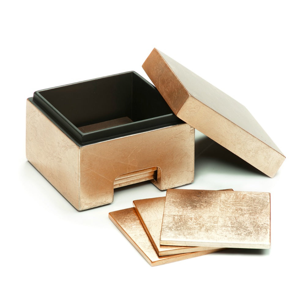 Posh Trading Company Coastbox Silver Leaf in Gold