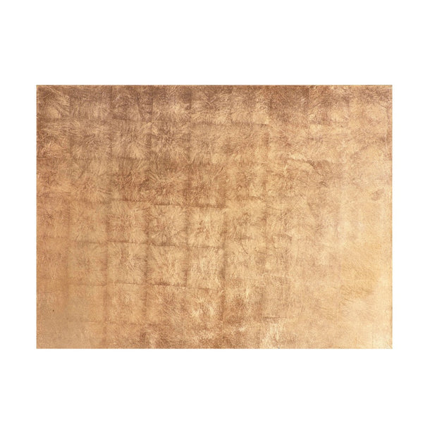 Posh Trading Company Serving Mat/Grand Placemat Silver Leaf in Gold
