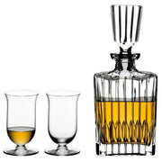 Riedel Crystal Single Malt Whisky Decanter and Glasses Set