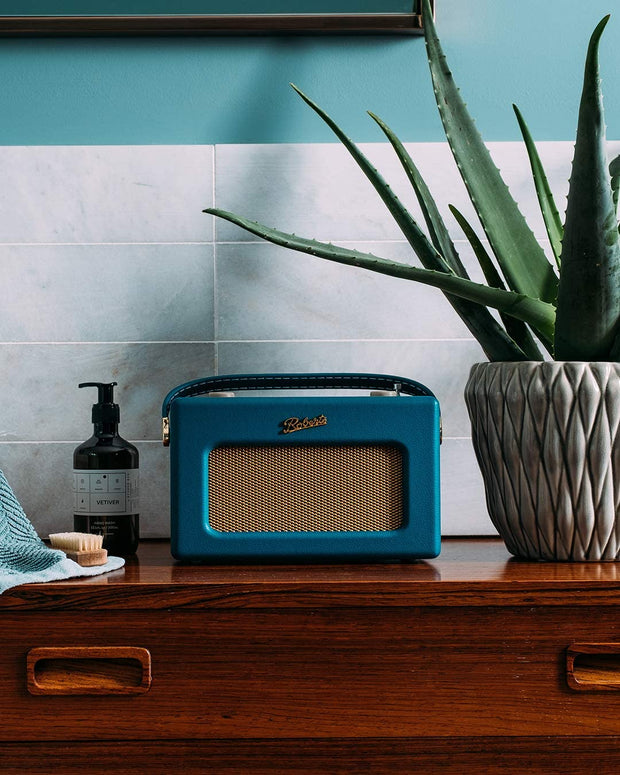 Roberts Revival iStream 3 DAB/FM Internet Smart Radio with Bluetooth (Teal Blue)