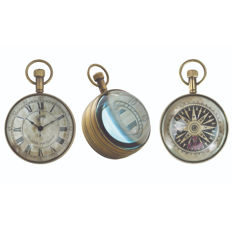 Authentic Models The Eye of Time Clock