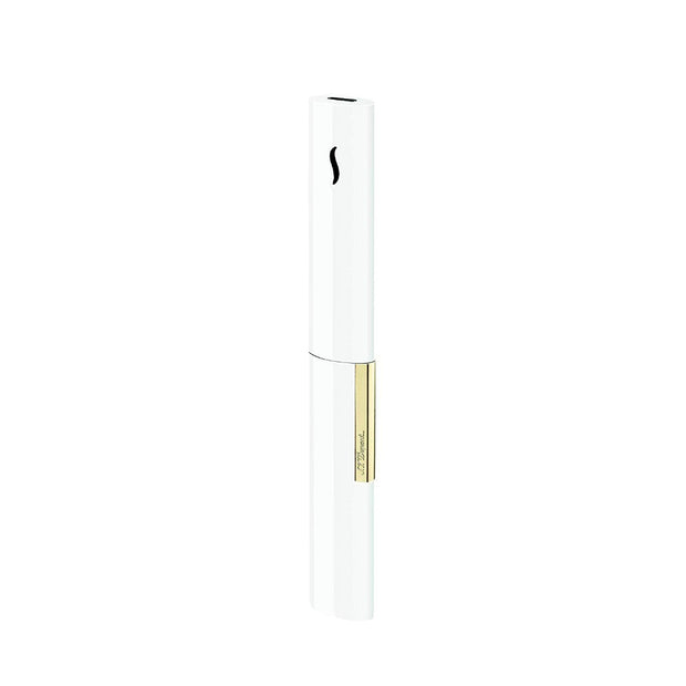 S.T. Dupont The Wand Candle Lighter White Gold
