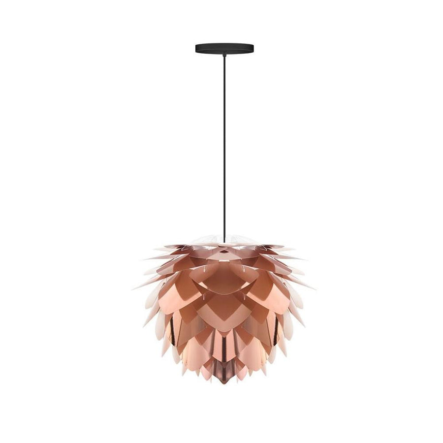 Vita Copenhagen Silvia Ceiling Pendant / Lamp Shade Mini 34 x 27cm Copper by Burton Blake