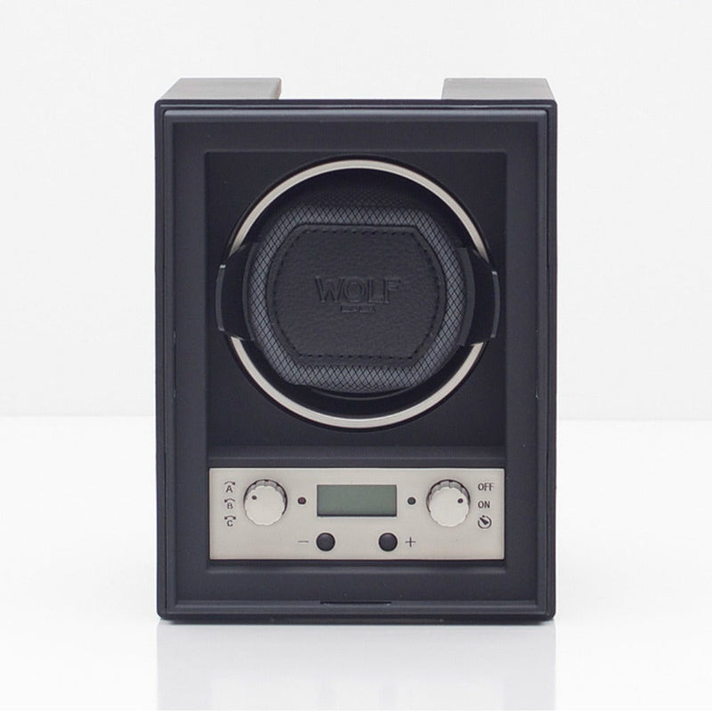 WOLF 454011 4.1 Single Modular Watch Winder Black