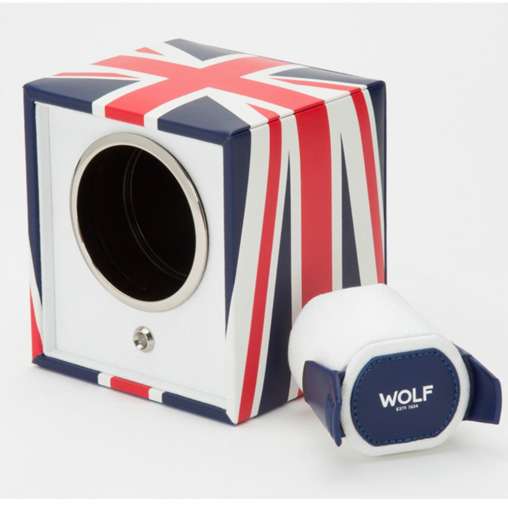 Wolf 462404 Navigator Single Watch Winder - UK