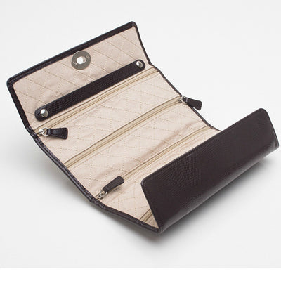 Wolf 315306 London Jewellery Roll Cocoa