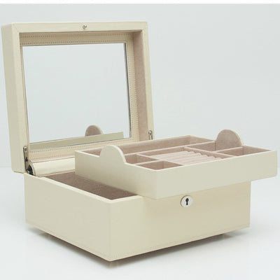 Wolf 315253 London Square Jewellery Box Cream