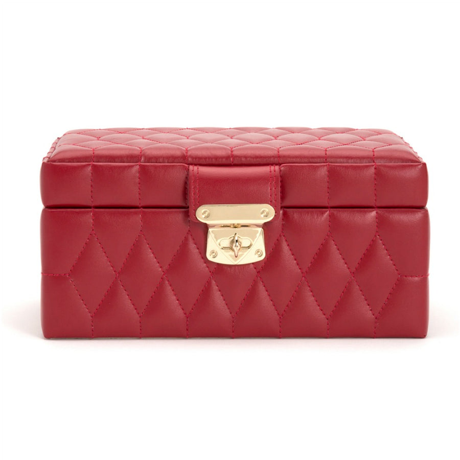 Wolf Caroline Small Jewellery Case - Red