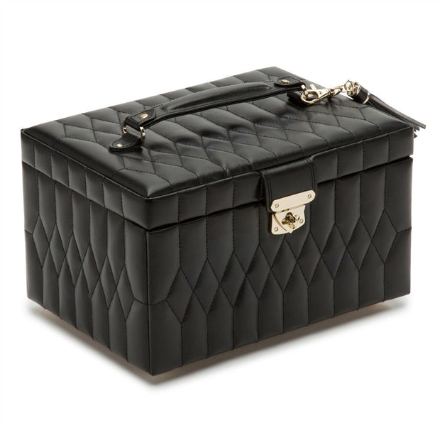 Wolf 329771 Caroline Medium Jewellery Case Black