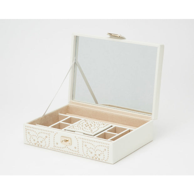 Wolf 308353 Marrakesh Flat Jewellery Case Cream