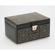 Wolf 308102 Marrakesh Medium Jewellery Case Black