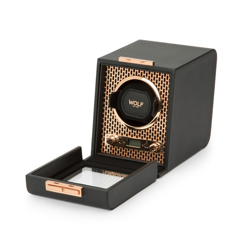 WOLF 469116 Axis Single Watch Winder Copper