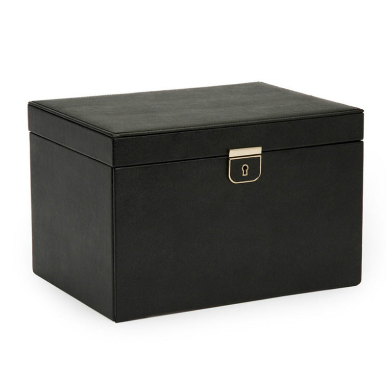WOLF 213002 Palermo Large Jewellery Box Black Anthracite