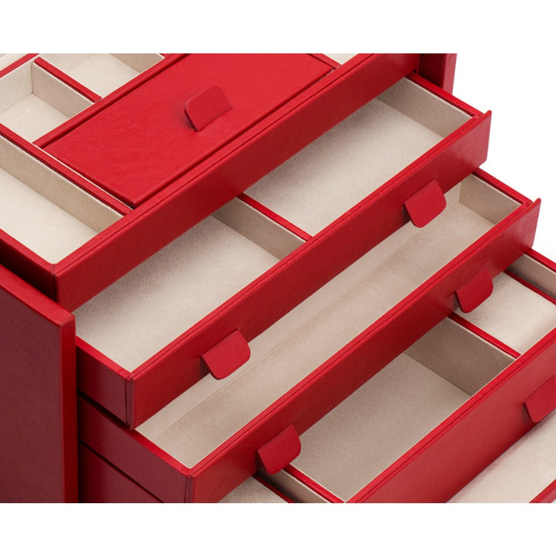 WOLF 213072 Palermo Large Jewellery Box Red