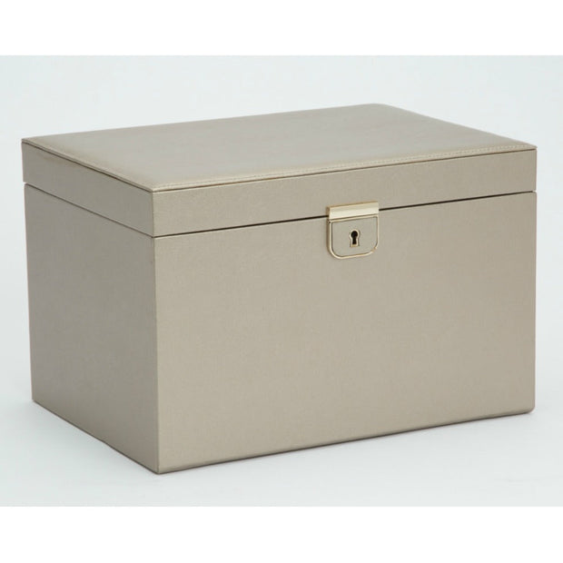 WOLF 213078 Palermo Large Jewellery Box Pewter