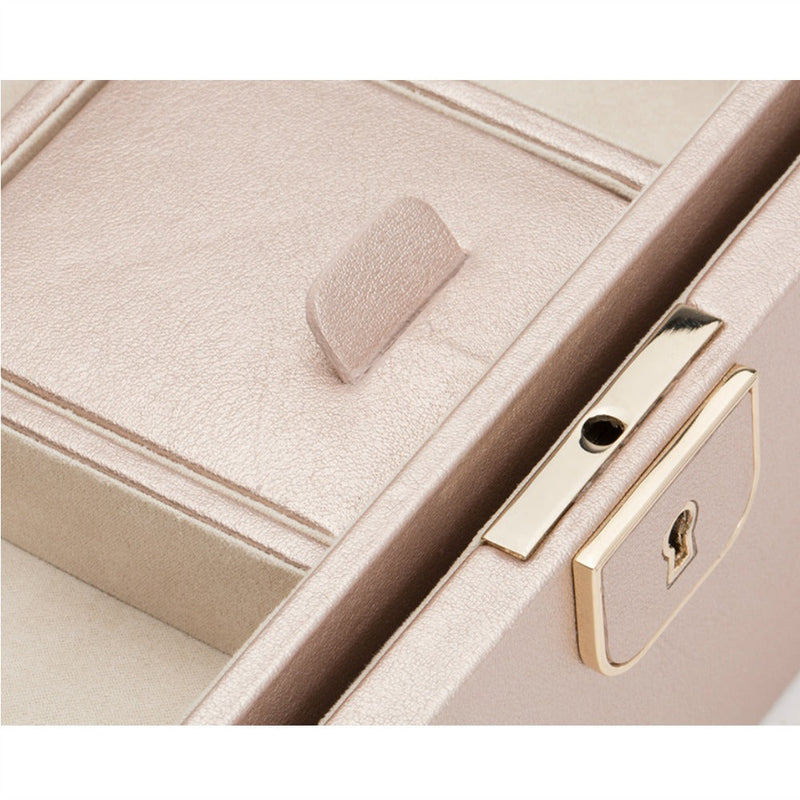 WOLF 213116 Palermo Small Jewellery Box Rose Gold
