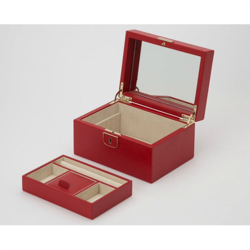 WOLF 213172 Palermo Small Jewellery Box Red