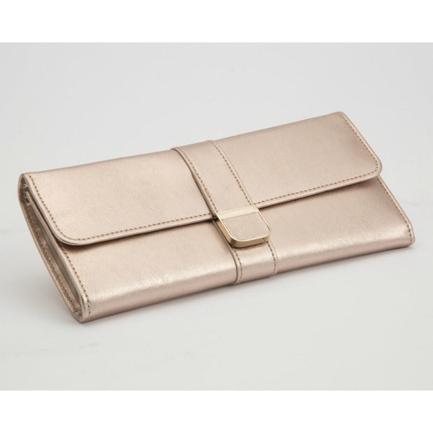 WOLF 213416 Palermo Jewellery Roll Rose Gold