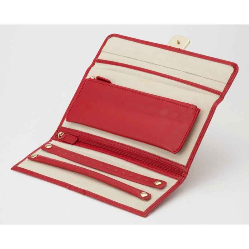 WOLF 213472 Palermo Jewellery Roll Red