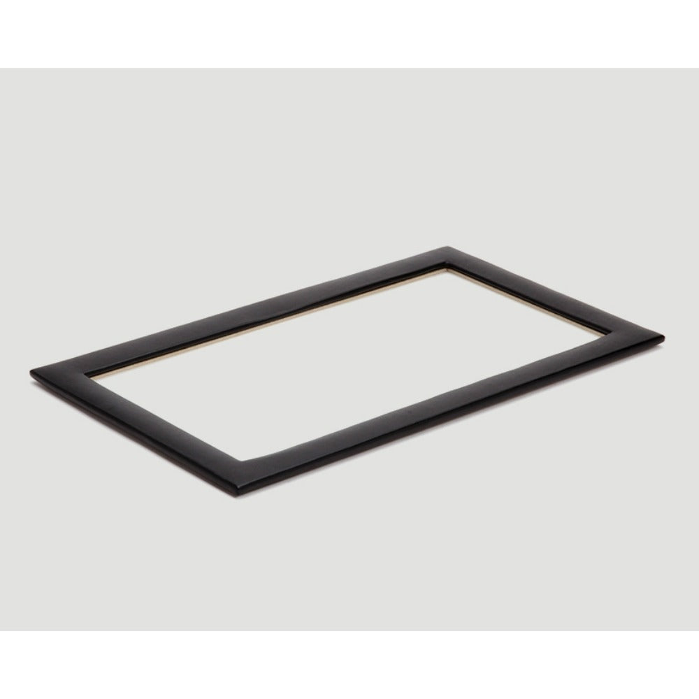 Wolf 435302 Vault Tray Glass Lid Black