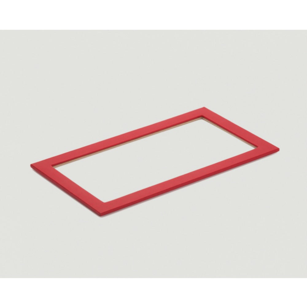 Wolf 435372 Vault Tray Glass Lid Red