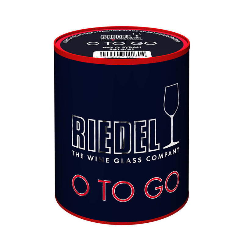 Riedel Fine Crystal O Wine Tumbler O To Go / Big O Syrah Single Glass