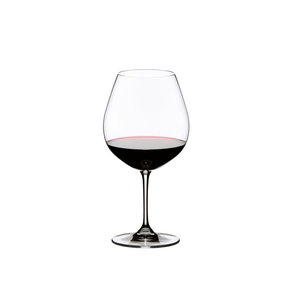 Riedel Fine Crystal Vinum Pinot Noir (Burgundy Red) Set of 2