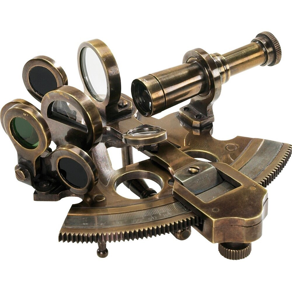 Authentic Models Bronze Pocket Sextant