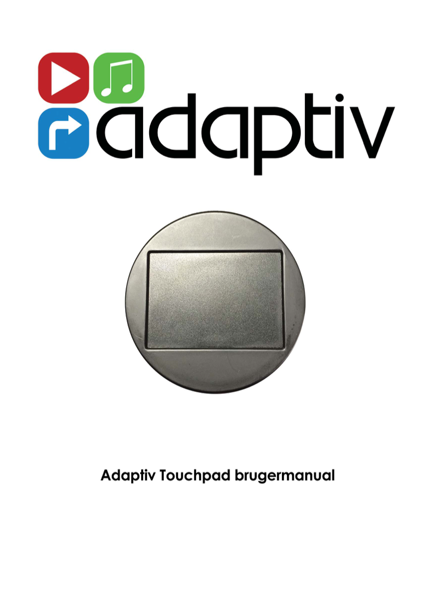 Touchpad manual
