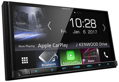 "Kenwood DMX7017BTS 7"" System med Apple CarPlay & Android Auto"