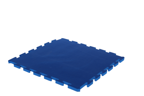 15mm Thick Blue Interlocking Foam Mat 1m x 1m