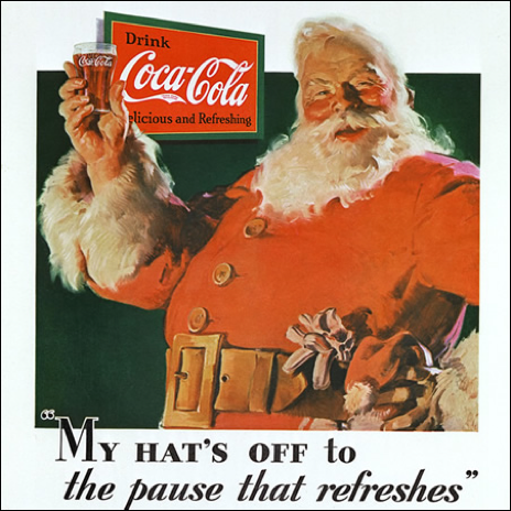 Christmas and Coca-Cola: The Changing Face of Santa