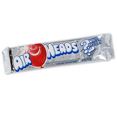 Airheads Bar White Mystery 16g Display of 36