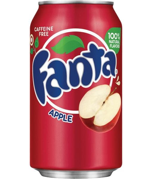 Fanta Red Apple 12OZ (355ml) Case of 12
